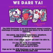 make music in the month of february, just because you can. rmpchallenge.com